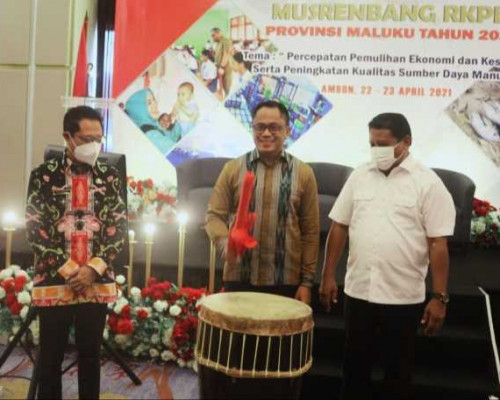 Sekda Buka Musrenbang RKPD Maluku Tahun 2022